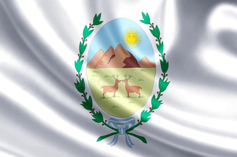 圣路易斯旗子例证 皇族释放例证