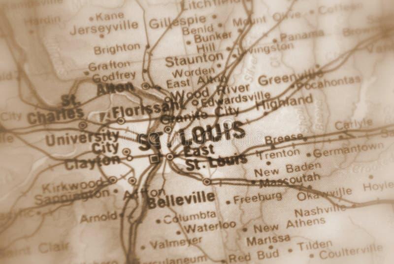 圣路易斯,U的一个城市 S 库存图片