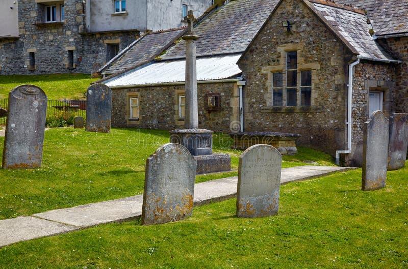 圣迈克尔墓地天使教会 Lyme regis 西多塞特 英国 库存图片
