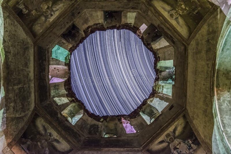 圣迈克尔教会天使 免版税库存照片