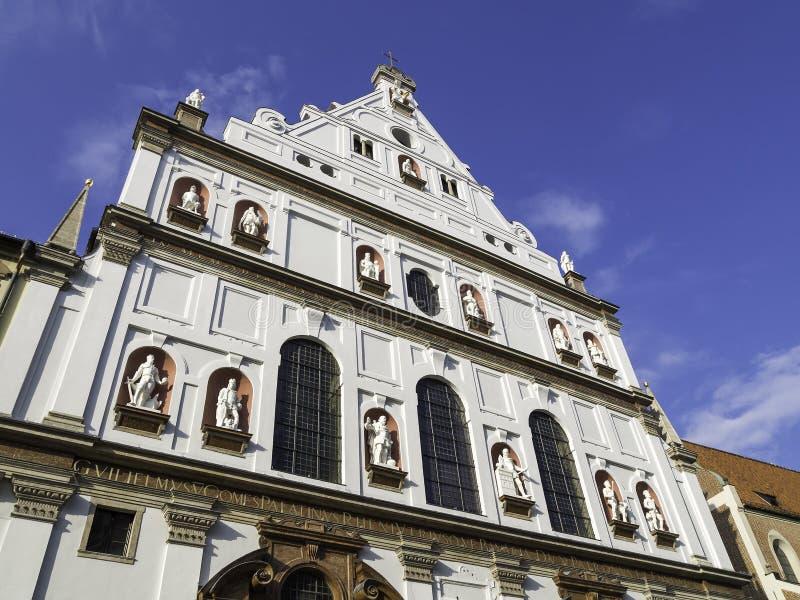 圣迈克尔教会 库存照片