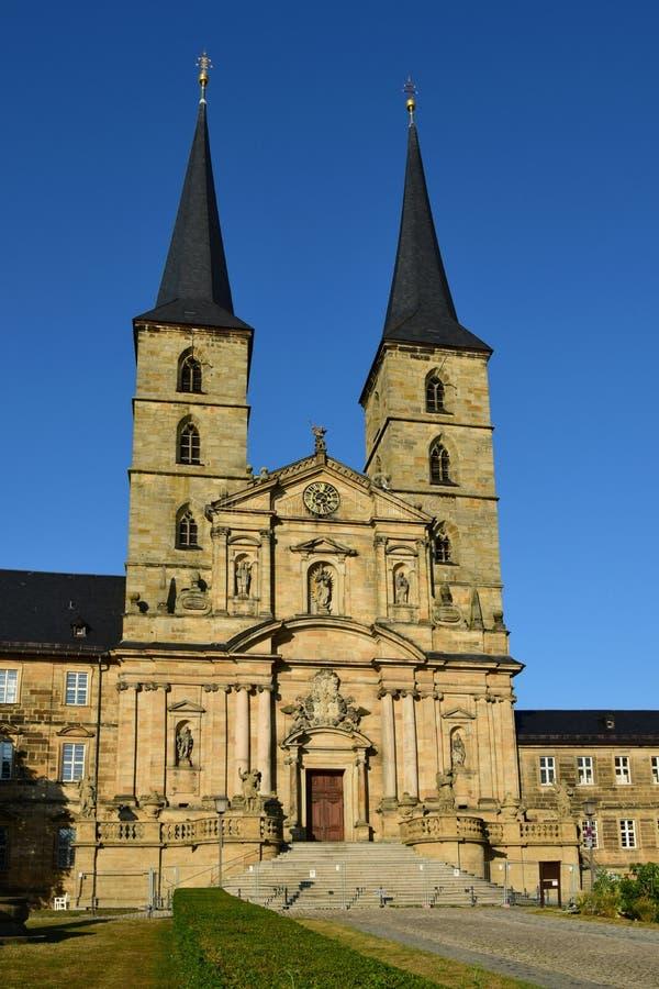 圣迈克尔的修道院在琥珀,德国 库存图片