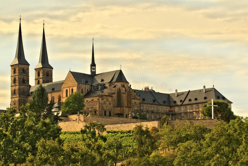圣迈克尔的教会在琥珀 免版税库存照片