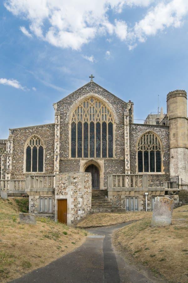 圣迈克尔` s教会, Beccles,萨福克,英国 库存照片