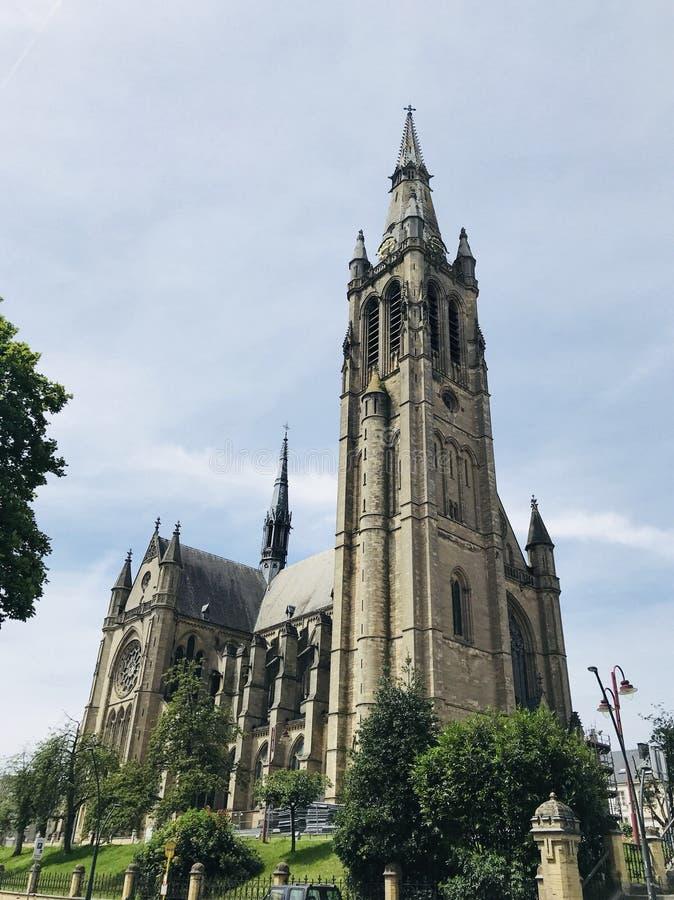 圣马丁教会 阿尔隆 比利时 欧洲 免版税库存图片