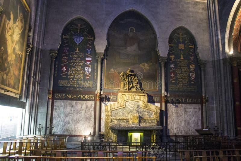 圣马丁,波城,法国教会  免版税库存照片