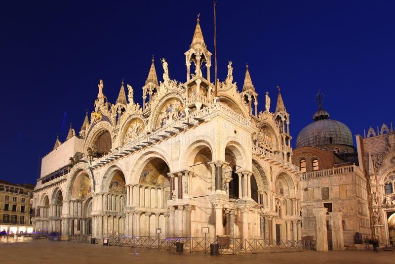 圣马克的大教堂在威尼斯,意大利 图库摄影