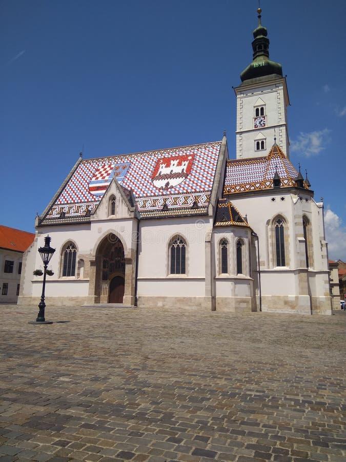 圣马克的教会 库存图片