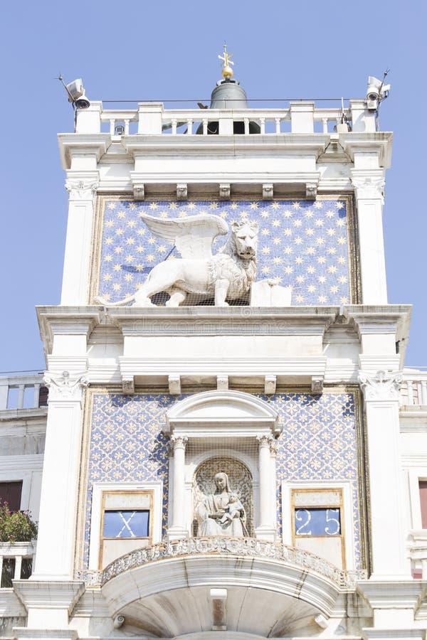 圣马克的钟楼 免版税库存照片