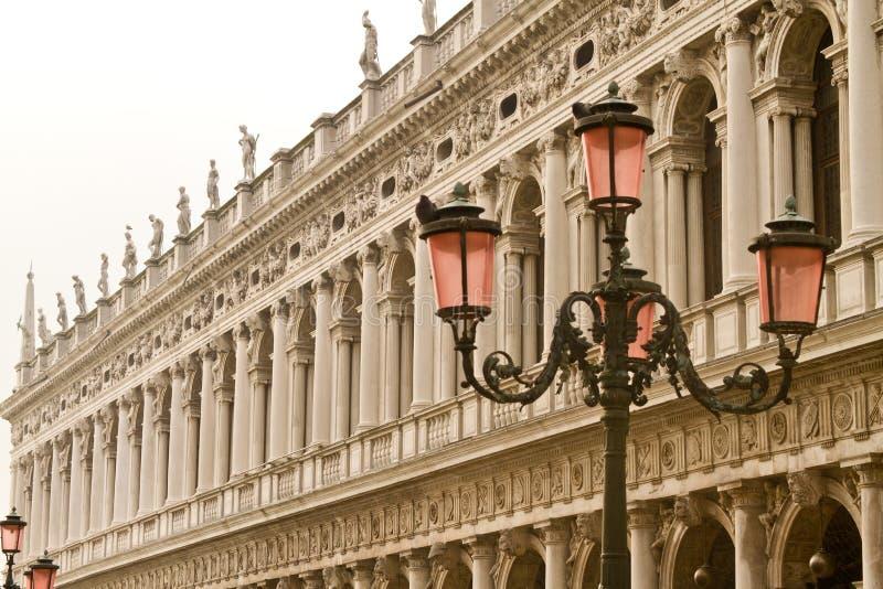 圣马可广场威尼斯 图库摄影