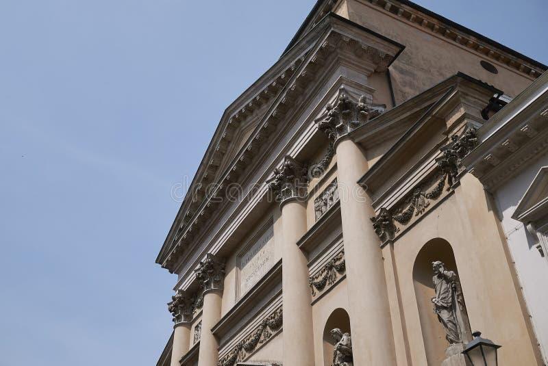 圣马尔塞洛教会也叫菲利皮尼教会 免版税库存图片