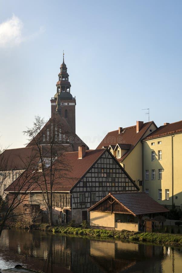 圣洁传道者彼得和保罗的牧师会主持的教堂在利兹巴克 库存图片