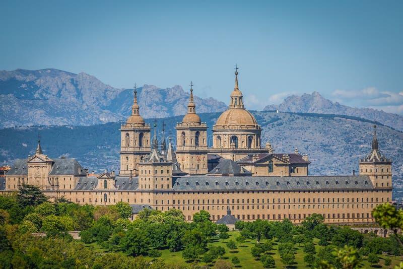 圣洛伦索德埃莱斯科里亚尔皇家位子,历史住所 库存图片