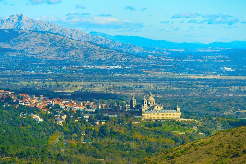 圣洛伦索德埃莱斯科里亚尔,西班牙 图库摄影
