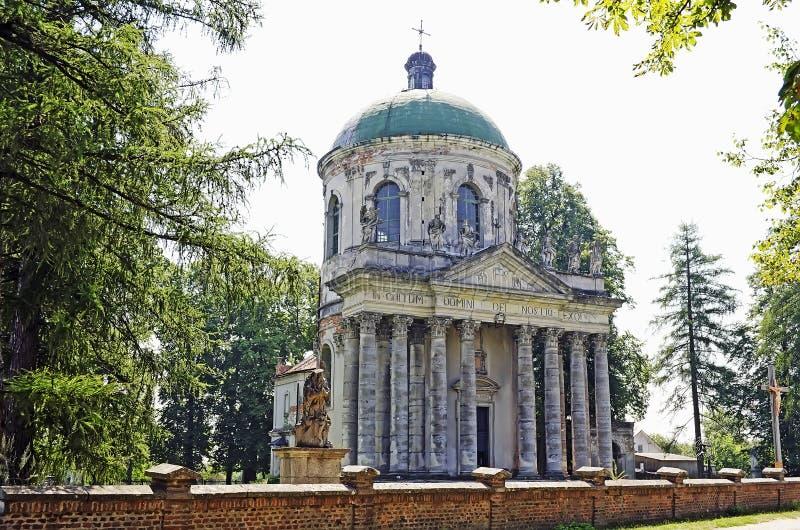 圣洁和圣何塞的兴奋的天主教堂 免版税图库摄影