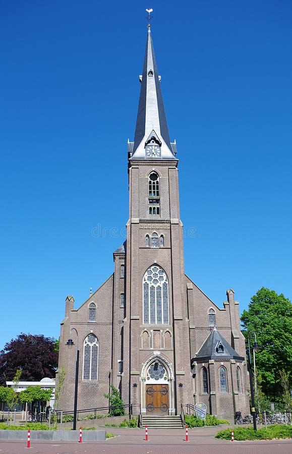 圣巴塞洛缪教会, Voorhout 免版税库存照片