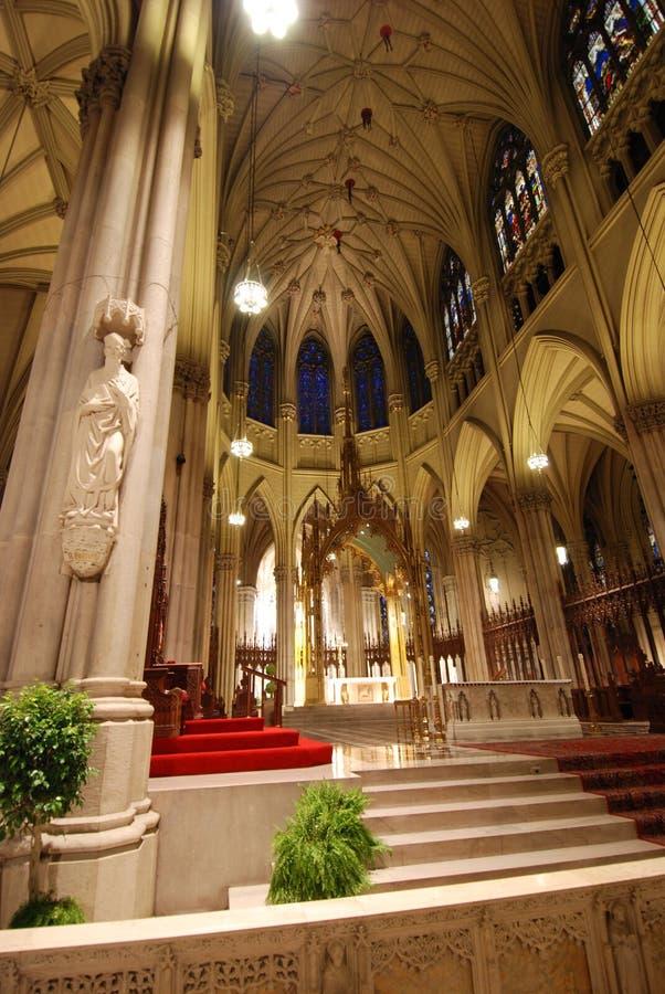 圣派屈克大教堂  免版税库存照片