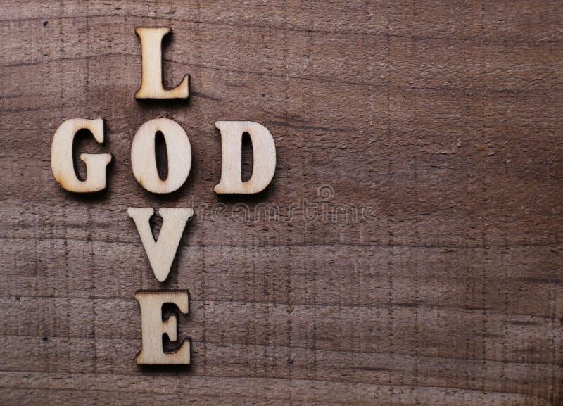 圣经接近的神爱 图库摄影