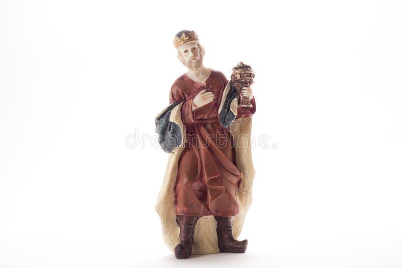 圣经的图Melchior国王 库存照片