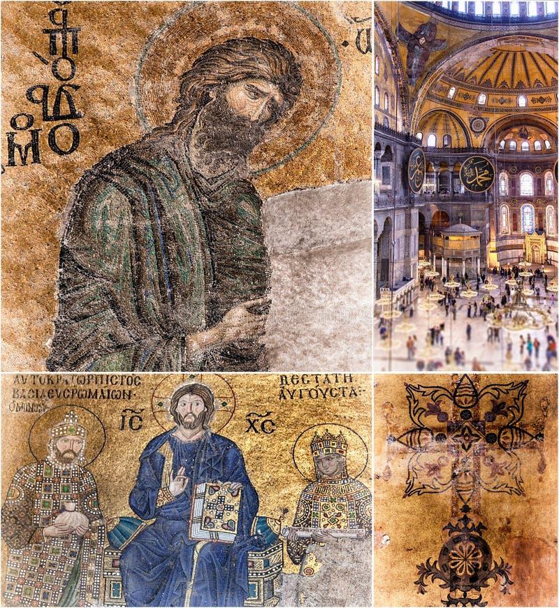圣索非亚大教堂伊斯坦布尔 免版税库存图片