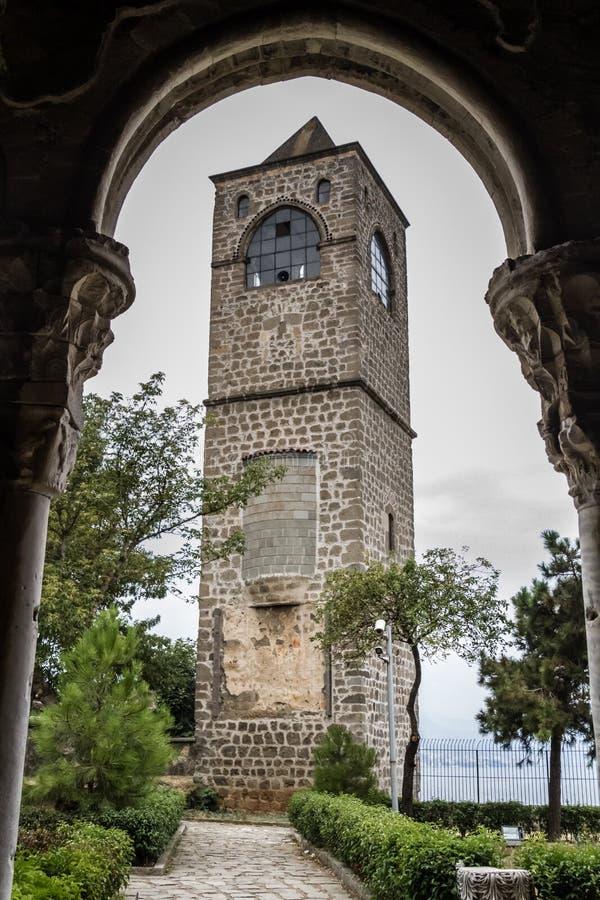 圣索非亚大教堂教会在特拉布松,土耳其 图库摄影