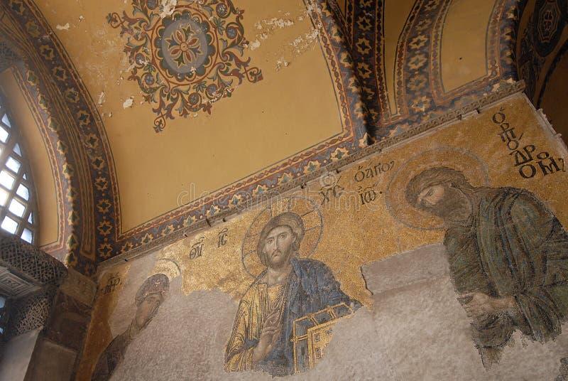 圣索非亚大教堂-伊斯坦布尔-土耳其 免版税库存图片
