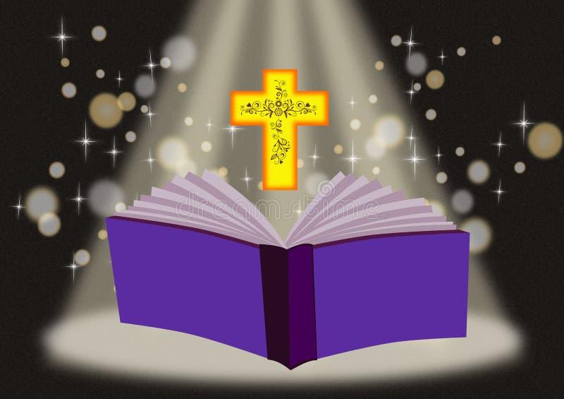 圣经 皇族释放例证