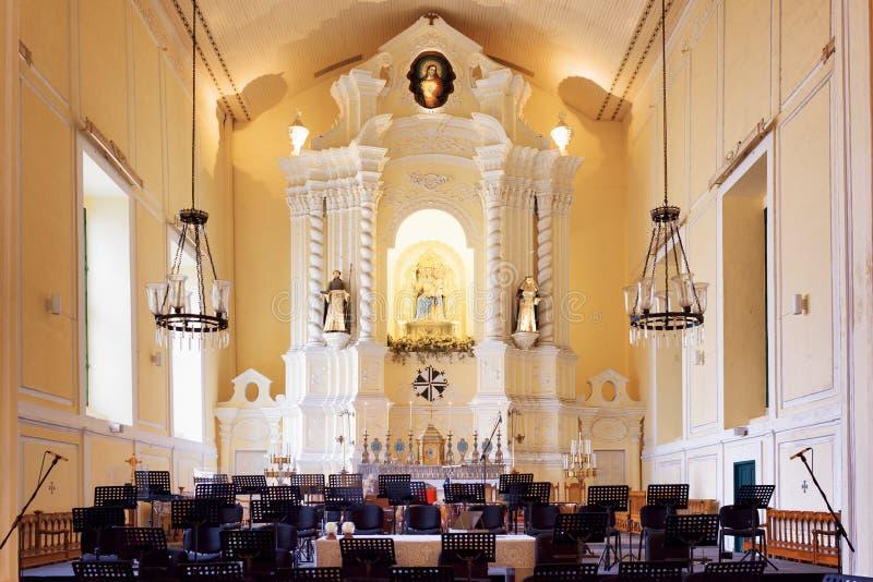 圣Dominic教会在澳门 免版税图库摄影