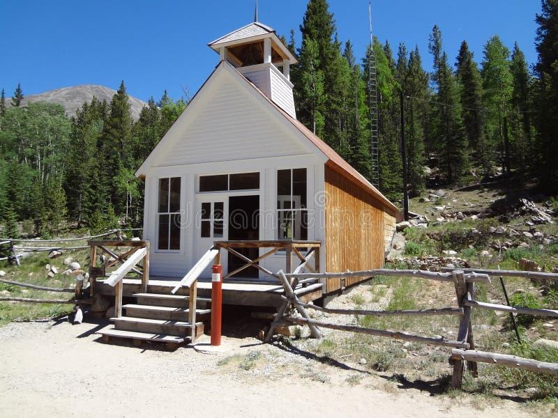 圣Elmo教会CO 库存图片