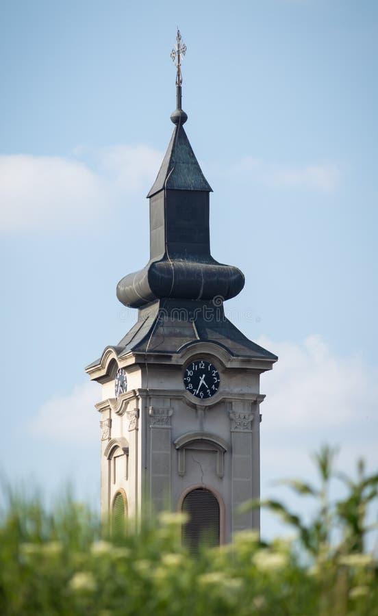 圣Georgija教会  库存照片