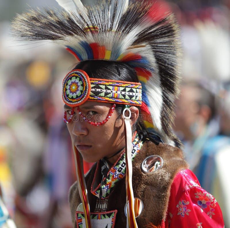 圣Manuel印地安人战俘Wow - 2012年 库存照片