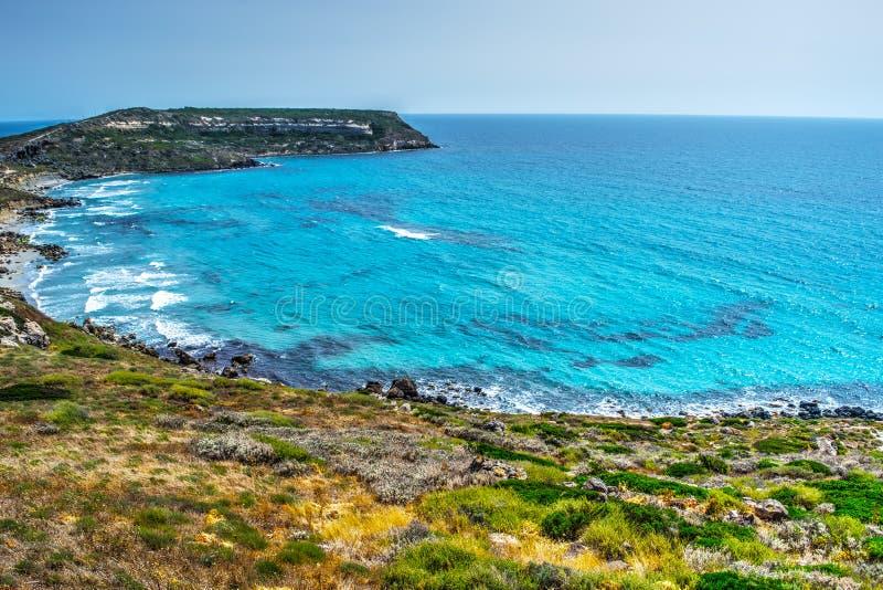 圣Marco海角在一个清楚的夏日 库存照片
