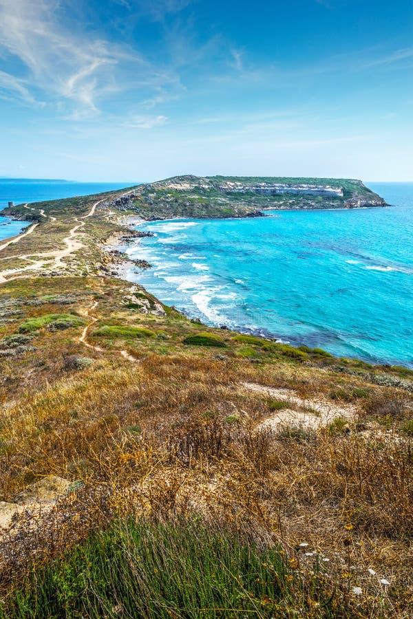 圣Marco海角在一个晴天 免版税库存图片