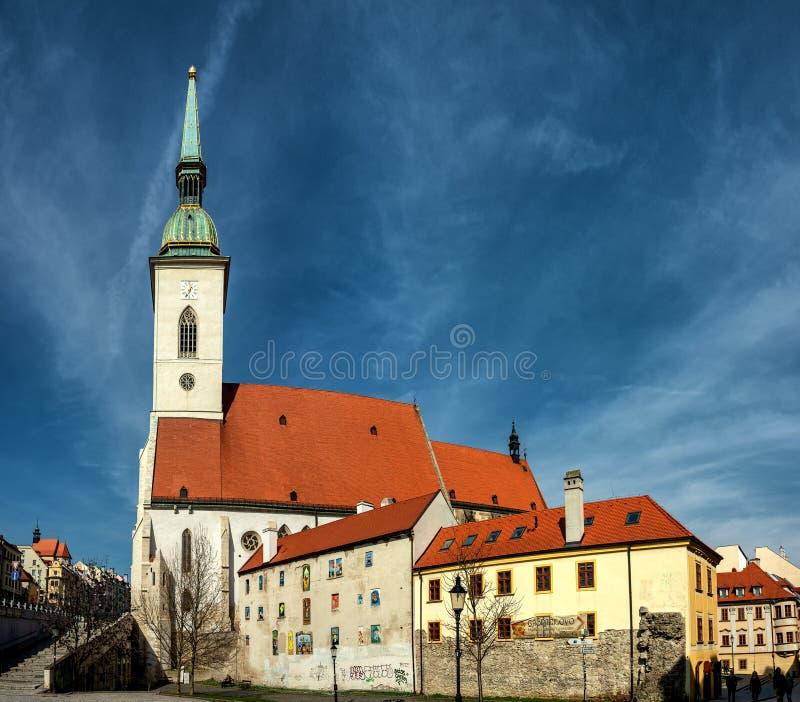 圣Martins教会在布拉索夫 库存照片