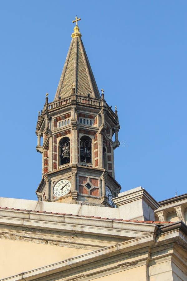 圣Nicolà ² -大教堂-莱科-意大利 免版税库存图片