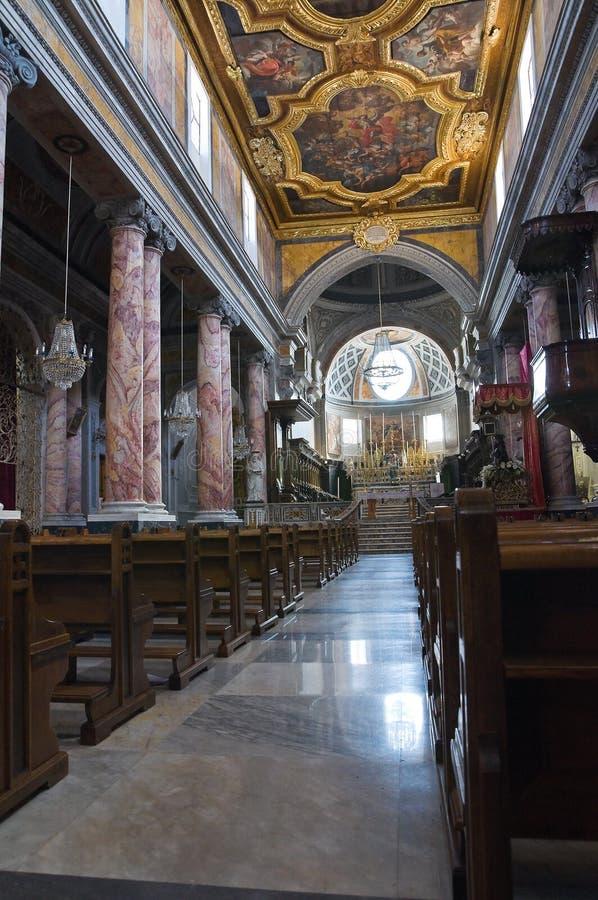 圣Nicola大教堂。卡斯泰拉内塔。普利亚。意大利。 库存照片