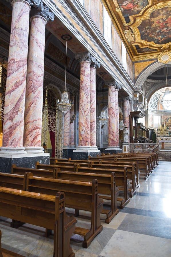 圣Nicola大教堂。卡斯泰拉内塔。普利亚。意大利。 库存图片