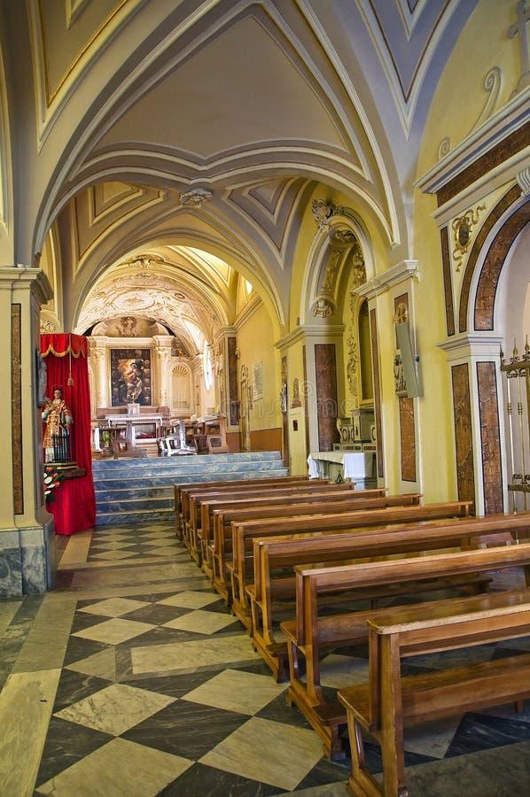 圣Nicola大教堂。Sant'Agata二普利亚。意大利。 库存图片