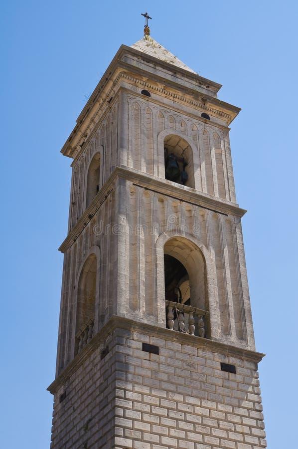 圣Nicola大教堂。Sant'Agata二普利亚。普利亚。意大利。 库存照片