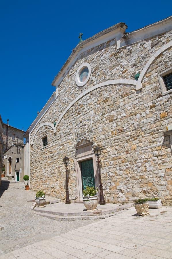 圣Nicola大教堂。Sant'Agata二普利亚。普利亚。意大利。 库存图片