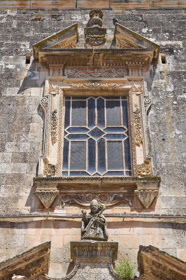 圣Nicola教会。Soleto。普利亚。意大利。 库存照片
