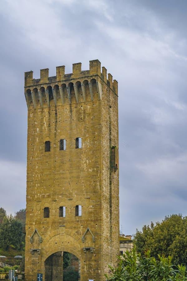 圣Nicolo门,佛罗伦萨,意大利 图库摄影