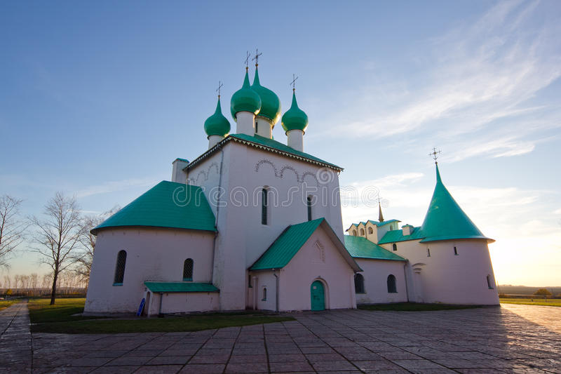 圣Radonezh Sergius教会在Kulikovo领域,图拉地区的 免版税库存照片