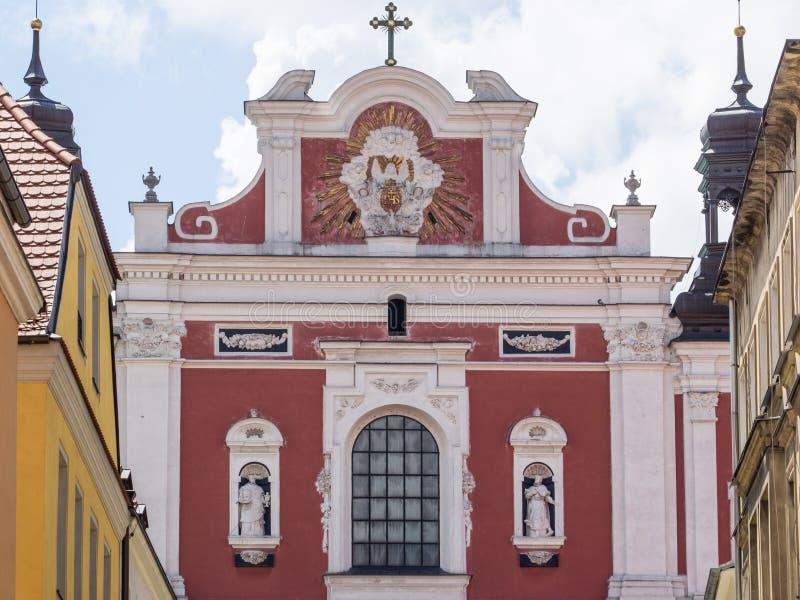 圣Stanislaus教区教堂  库存照片