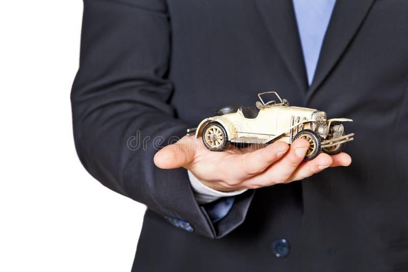 汽车保险和保护 免版税库存照片