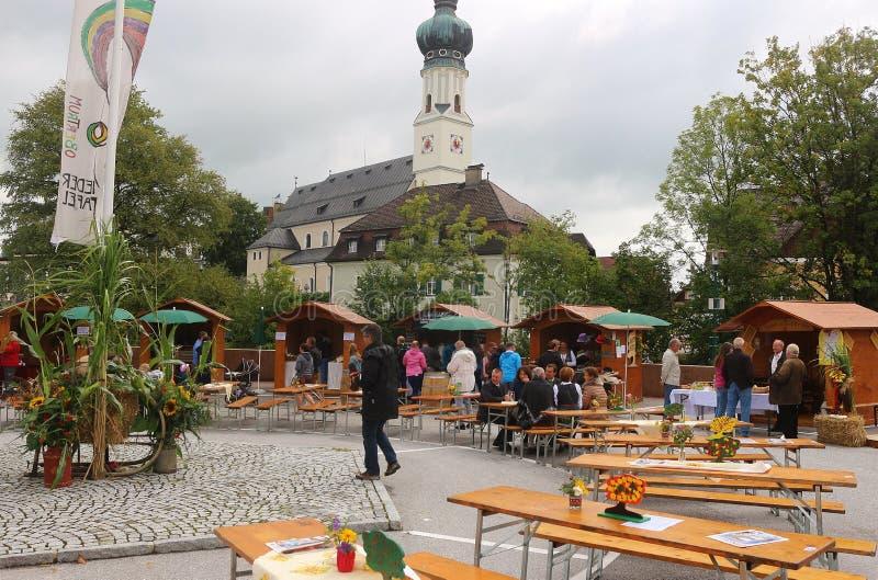 在一个传统国家节日在奥地利 图库摄影