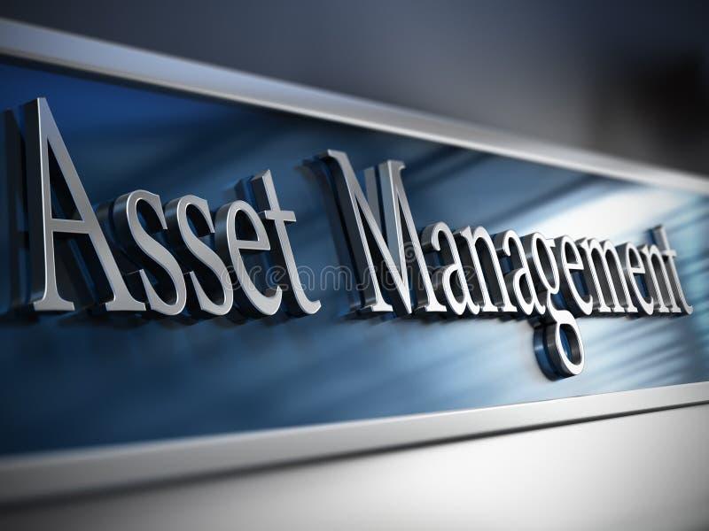 财产管理公司 库存例证