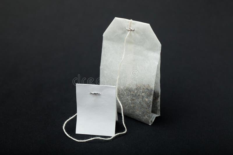 在一个纸袋的英国红茶 免版税图库摄影