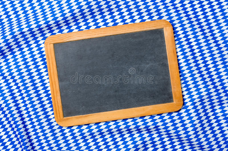 在一个巴法力亚金刚石样式的一个黑板 免版税图库摄影