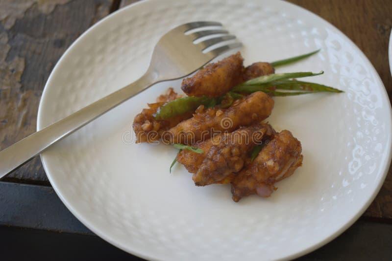 煮熟的小玉米 库存照片